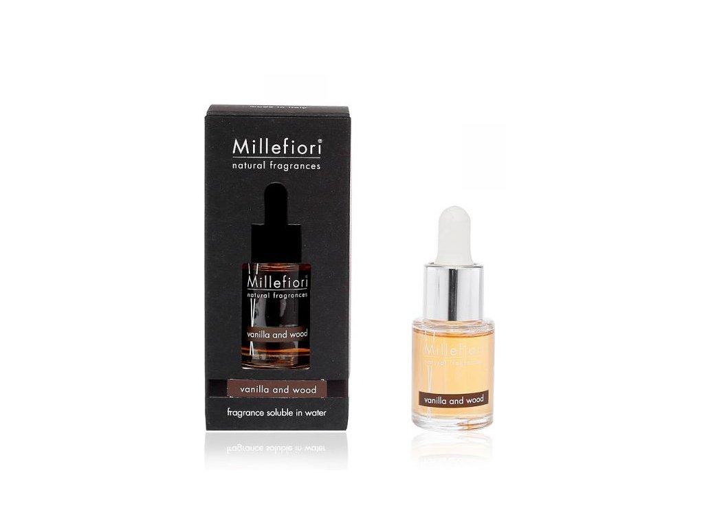 Millefiori Natural Vanilla & Wood aroma olej 15 ml
