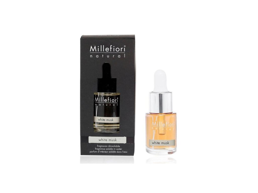 Millefiori Natural White Musk aroma olej 15 ml