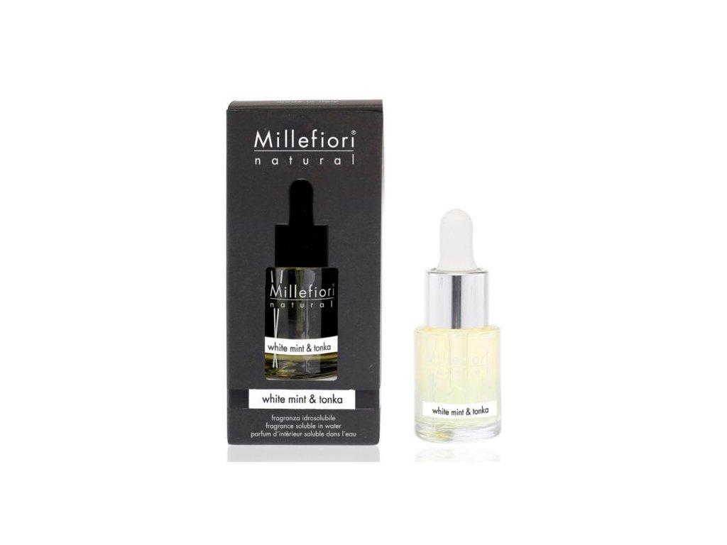 Millefiori Natural White Mint & Tonka aroma olej 15 ml