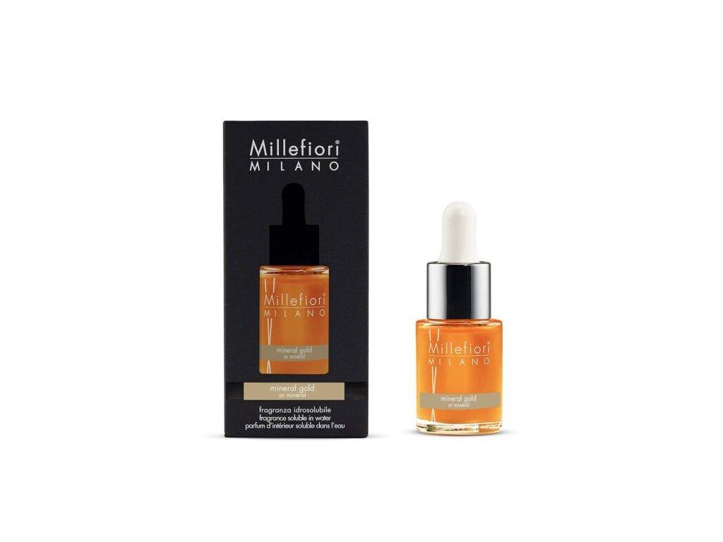 Millefiori Natural Mineral Gold aroma olej 15 ml