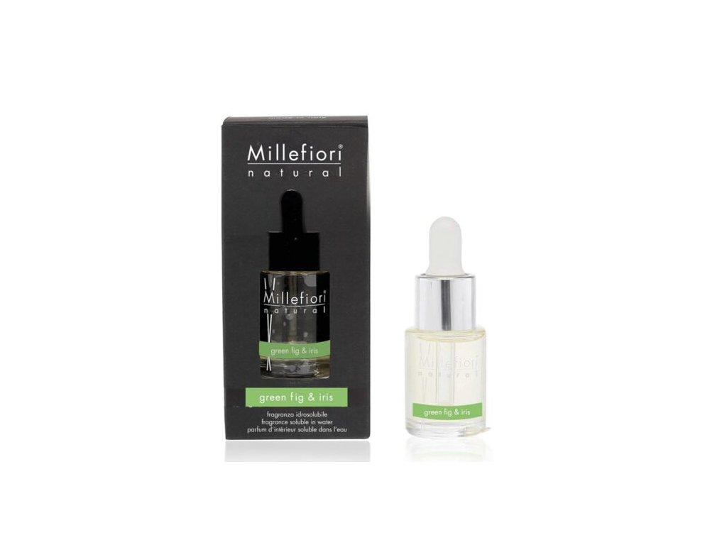 Millefiori Natural Green Fig & Iris aroma olej 15 ml