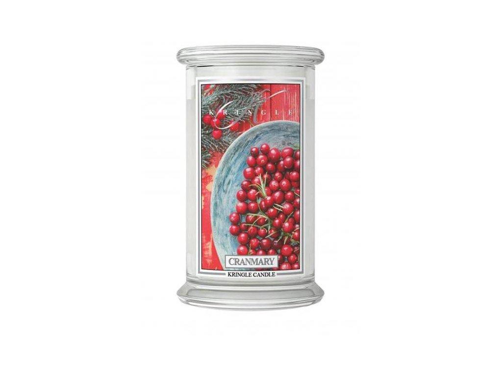 Kringle Candle svíčka Cranmary, 623 g