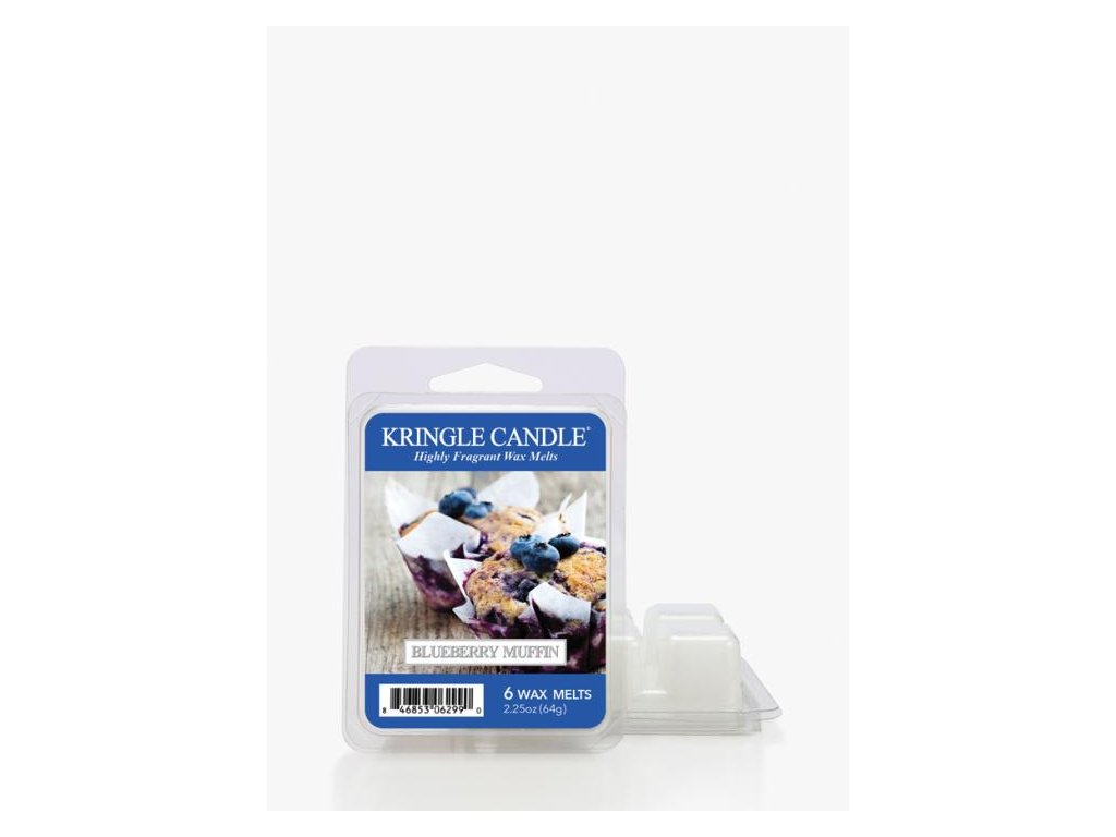 Kringle Candle Blueberry Muffin Vonný Vosk, 64 g