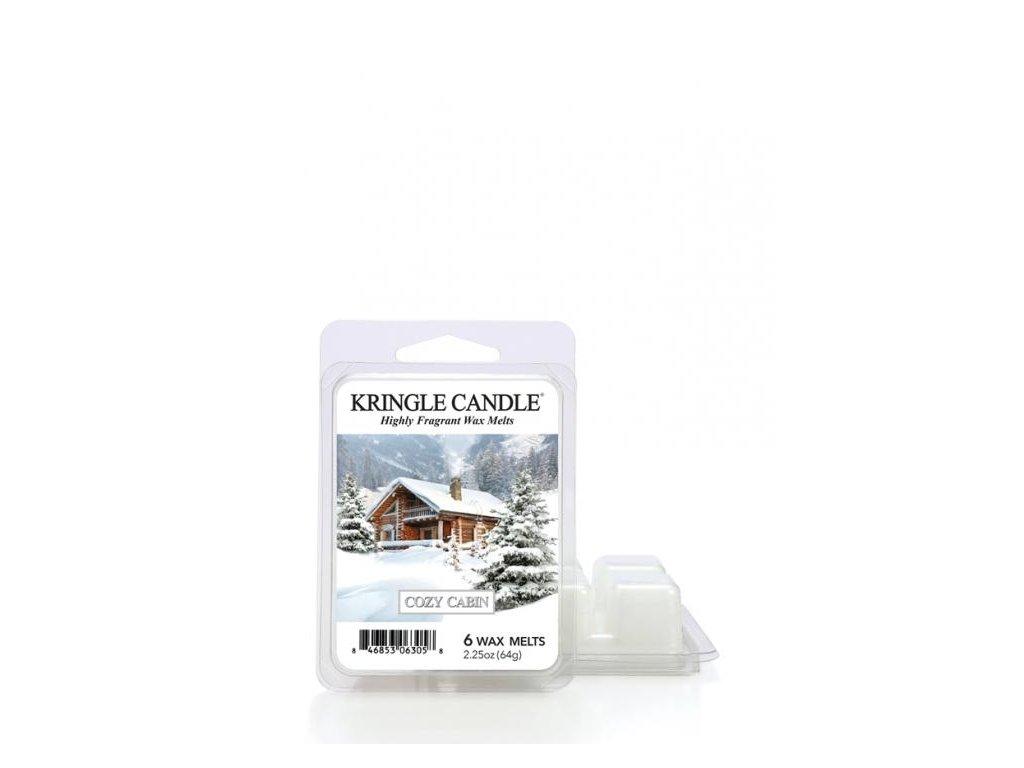 Kringle Candle Cozy Cabin Vonný Vosk, 64 g