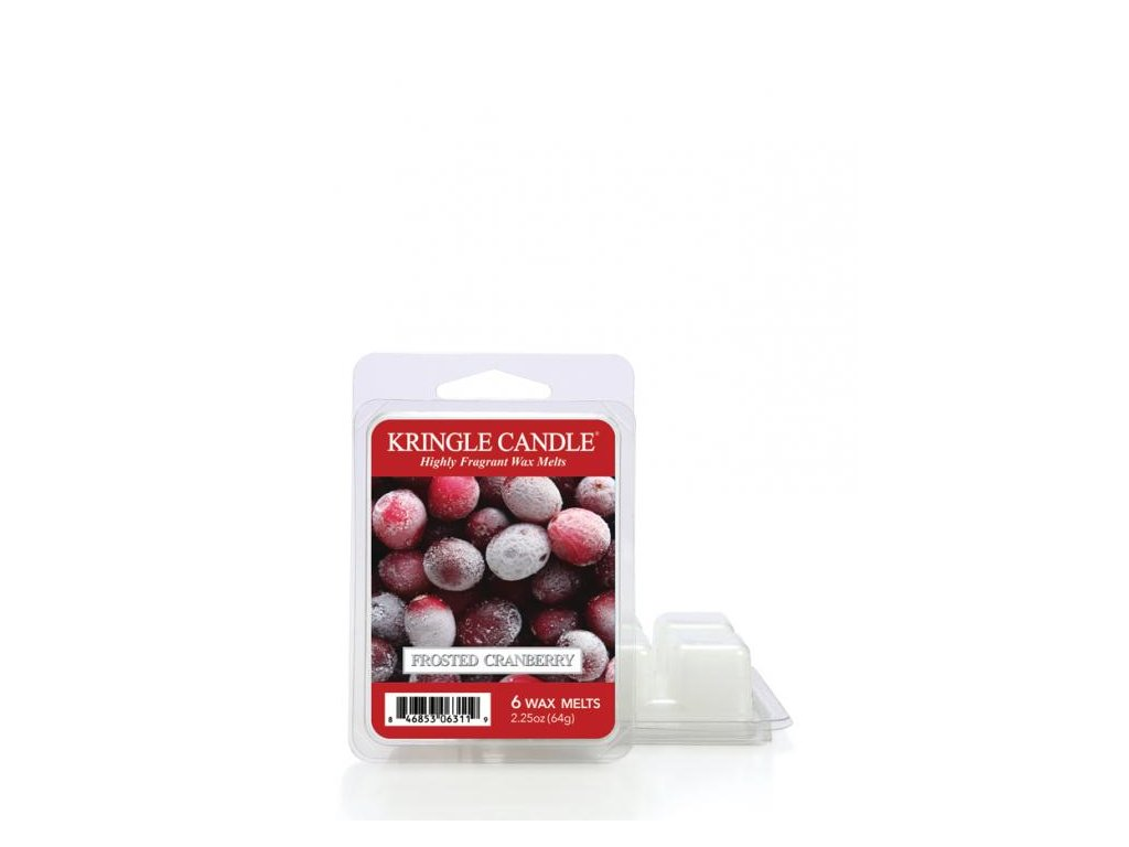 Kringle Candle Frosted Cranberry Vonný Vosk, 64 g