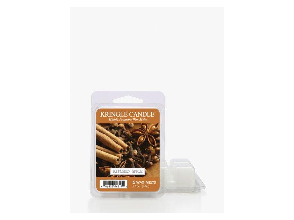 Kringle Candle Kitchen Spice Vonný Vosk, 64 g