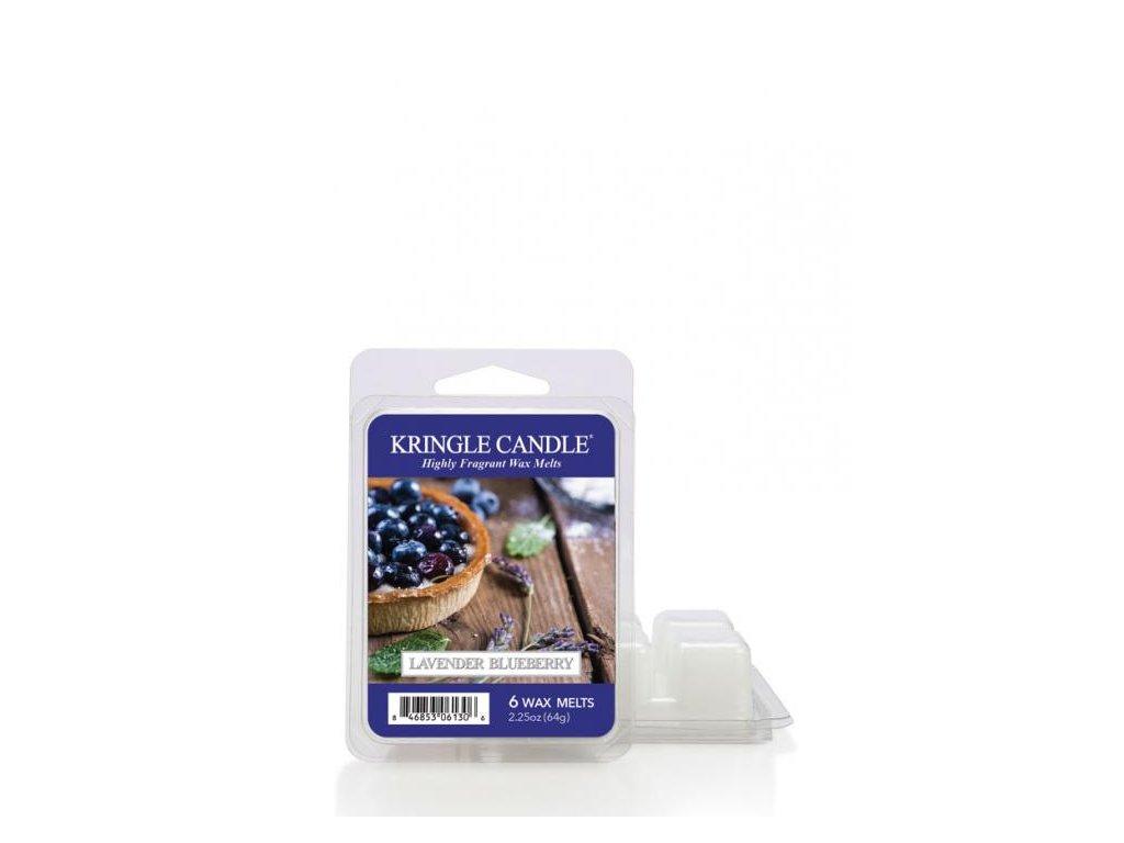 Kringle Candle Lavender Blueberry Vonný Vosk, 64 g