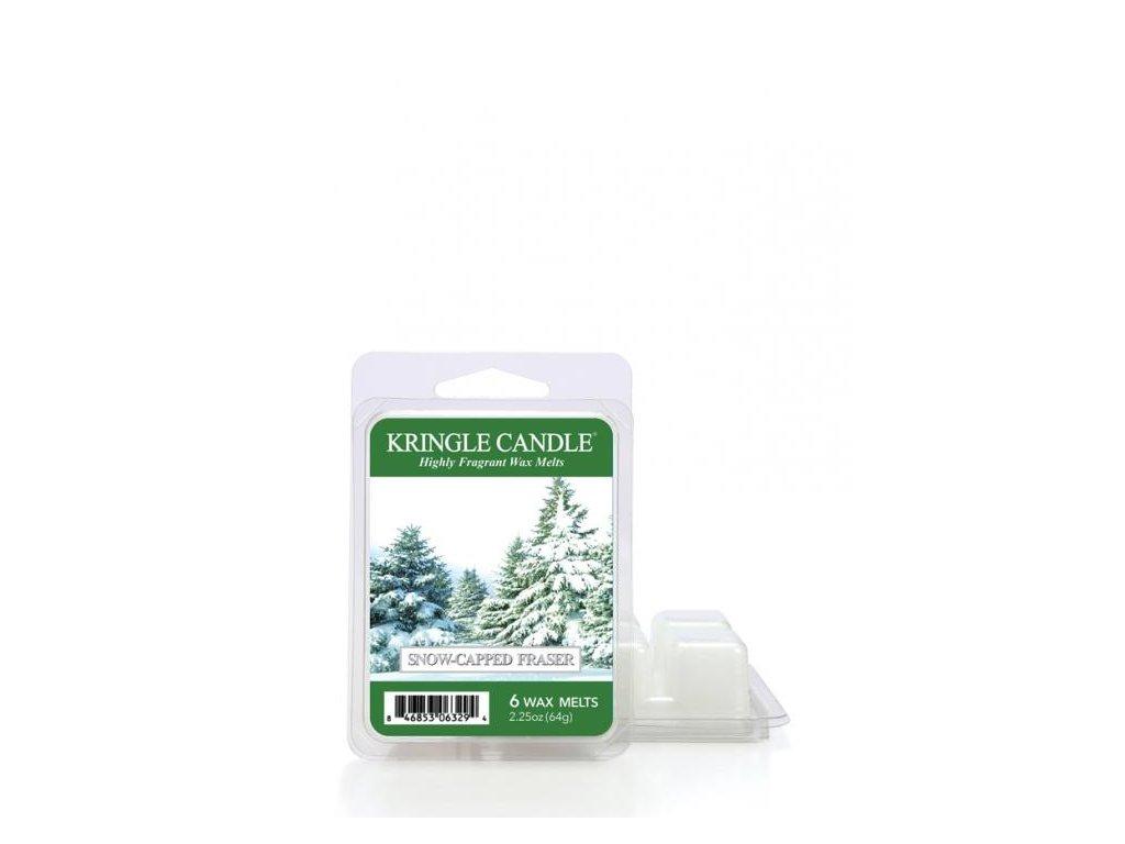 Kringle Candle Snow Capped Fraser Vonný Vosk, 64 g