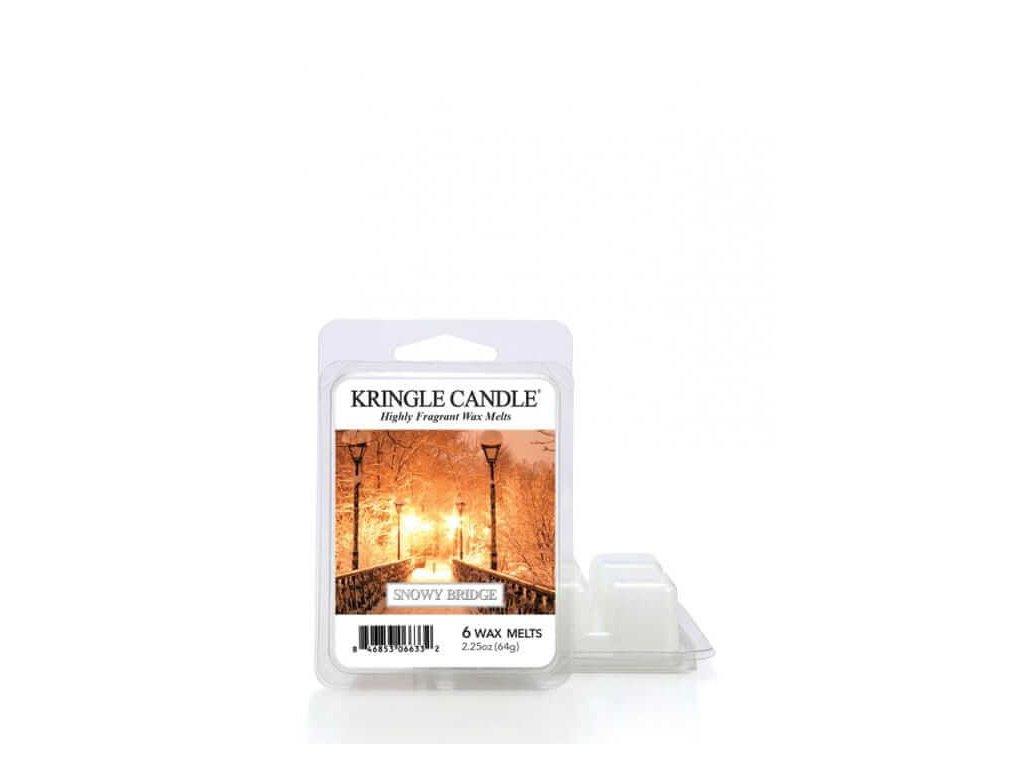 Kringle Candle Snowy Bridge Vonný Vosk, 64 g