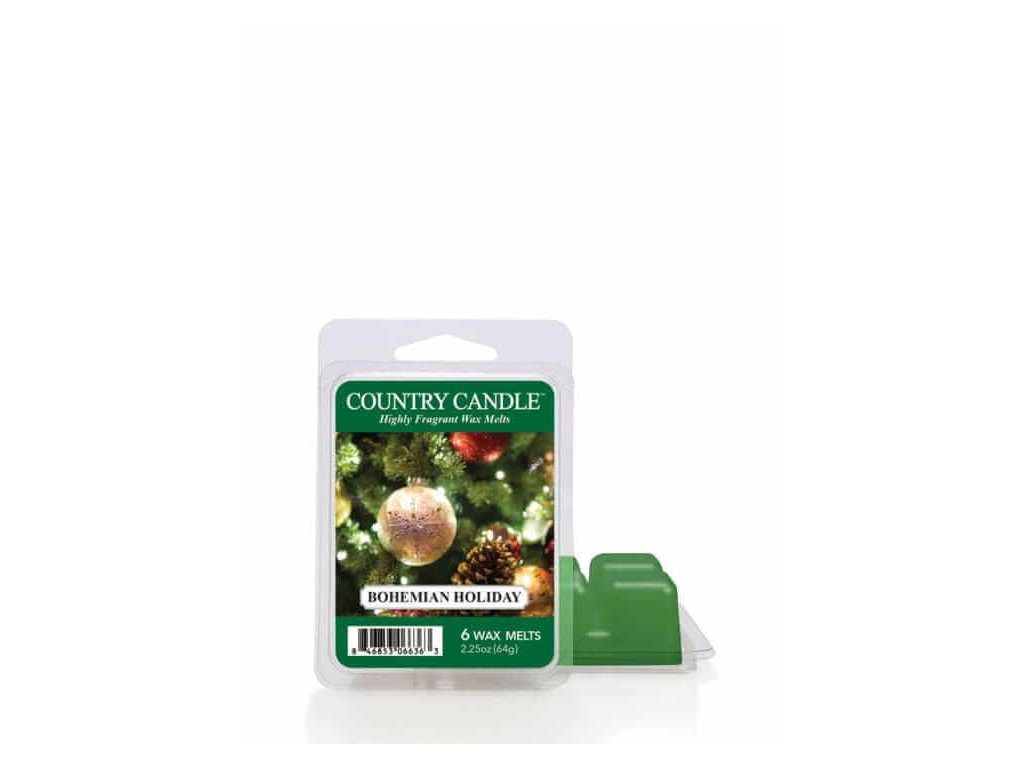 Country Candle Bohemian Holiday Vonný Vosk, 64 g