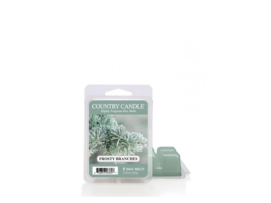 Country Candle Frosty Branches Vonný Vosk, 64 g