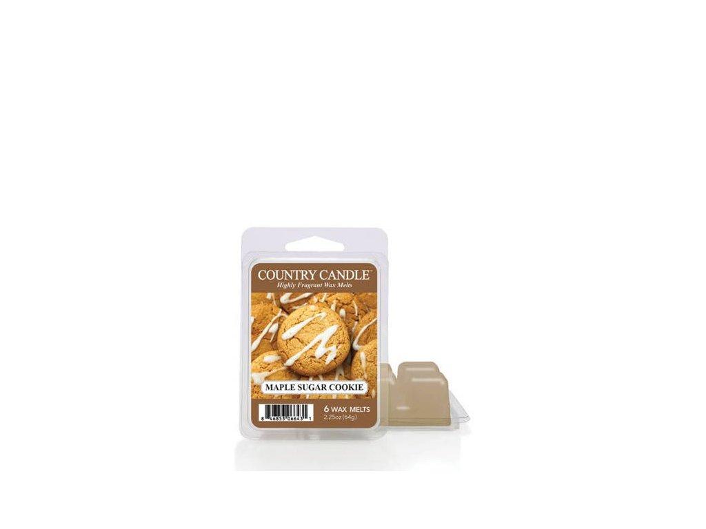 Country Candle Maple Sugar Cookie Vonný Vosk, 64 g