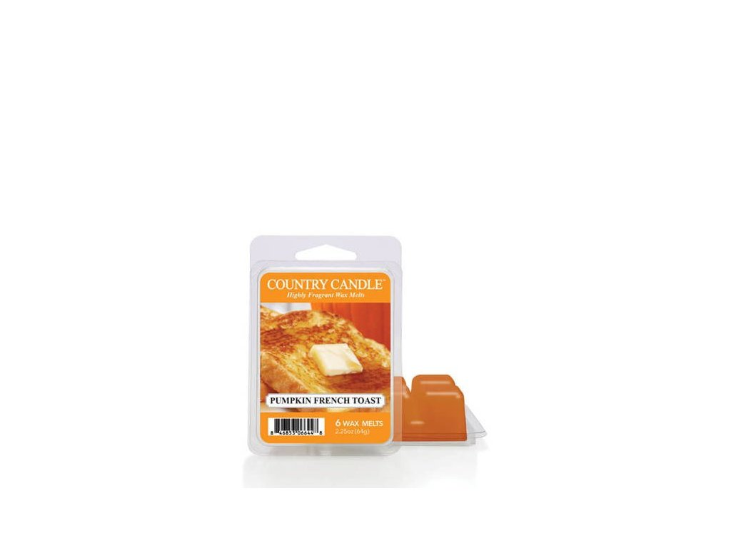 Country Candle Pumpkin French Toast Vonný Vosk, 64 g