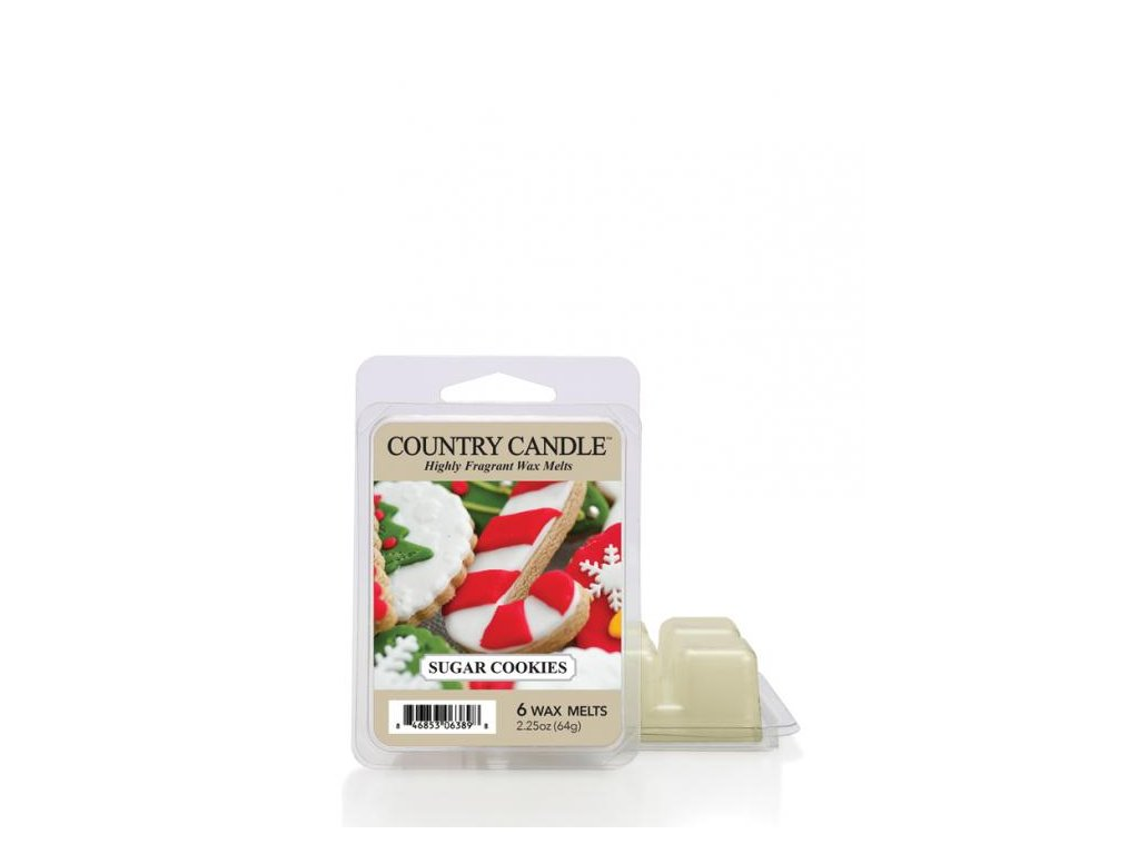 Country Candle Sugar Cookies Vonný Vosk, 64 g