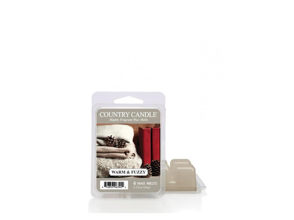 Country Candle Warm and Fuzzy Vonný Vosk, 64 g
