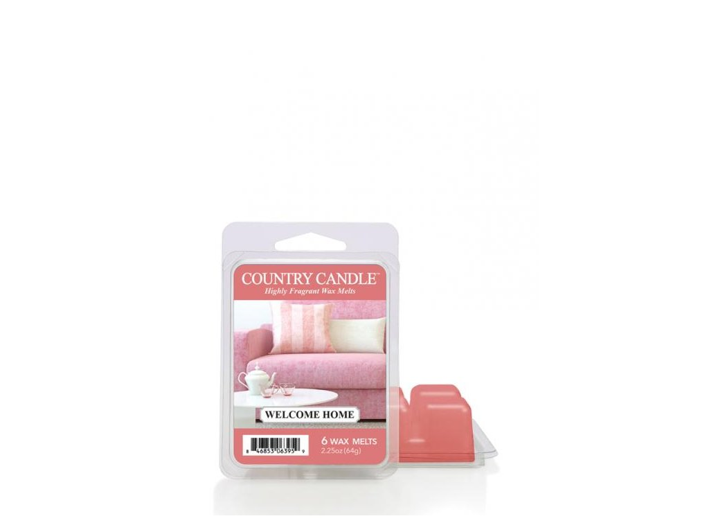 Country Candle Welcome Home Vonný Vosk, 64 g