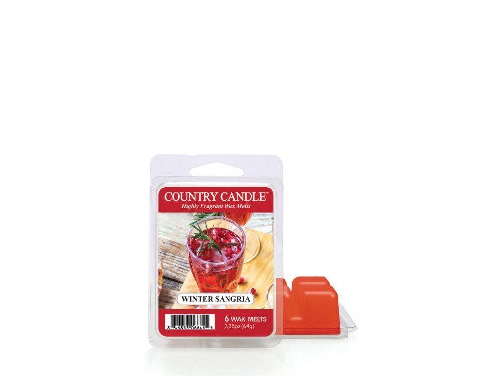 Country Candle Winter Sangria Vonný Vosk, 64 g