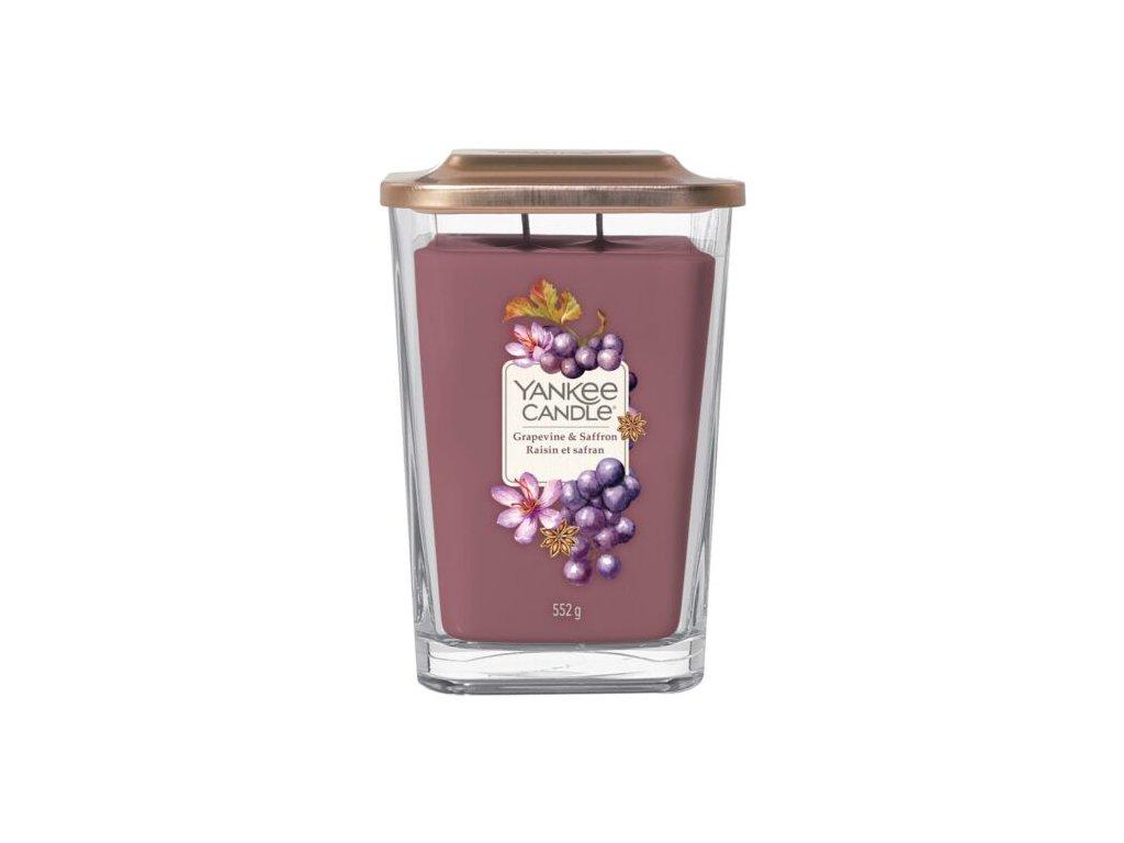 Yankee Candle Svíčka Elevation Grapevine & Saffron velká, 553 g