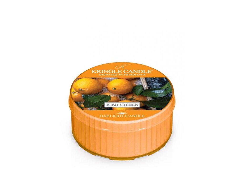 Kringle Candle Vonná Svíčka Iced Citrus, 35 g