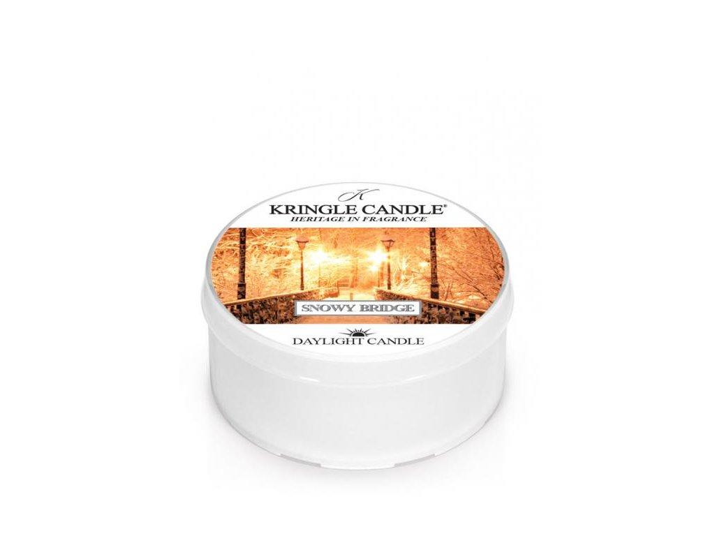 Kringle Candle Vonná Svíčka Snowy Bridge, 35 g