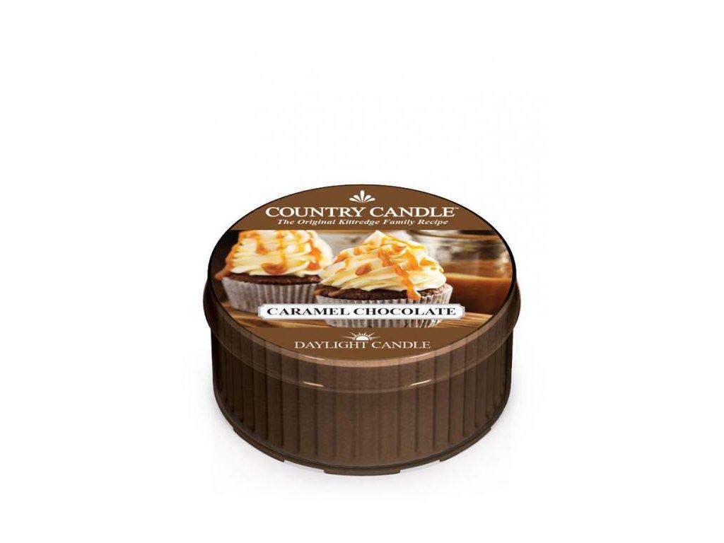 Country Candle Vonná Svíčka Caramel Chocolate, 35 g