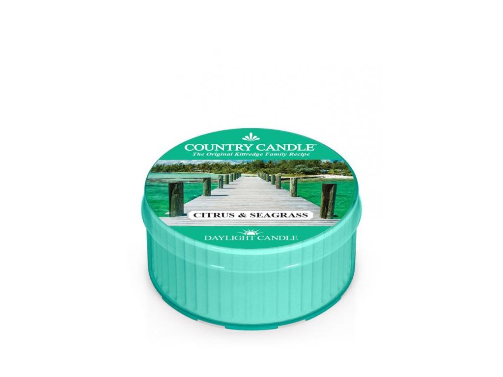 Country Candle Vonná Svíčka Citrus & Seagrass, 35 g