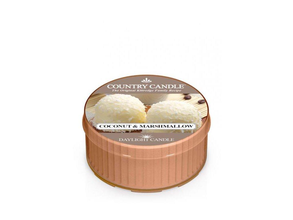 Country Candle Vonná Svíčka Coconut Marshmallow, 35 g