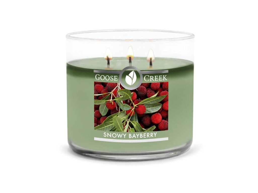 Goose Creek Candle svíčka Snowy Bayberry, 411 g