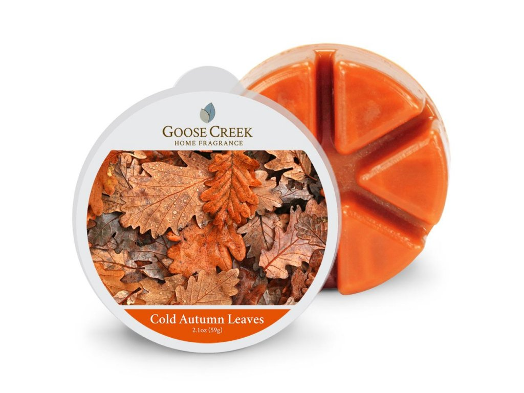 Goose Creek Candle Vonný Vosk Cold Autumn Leaves, 59 g