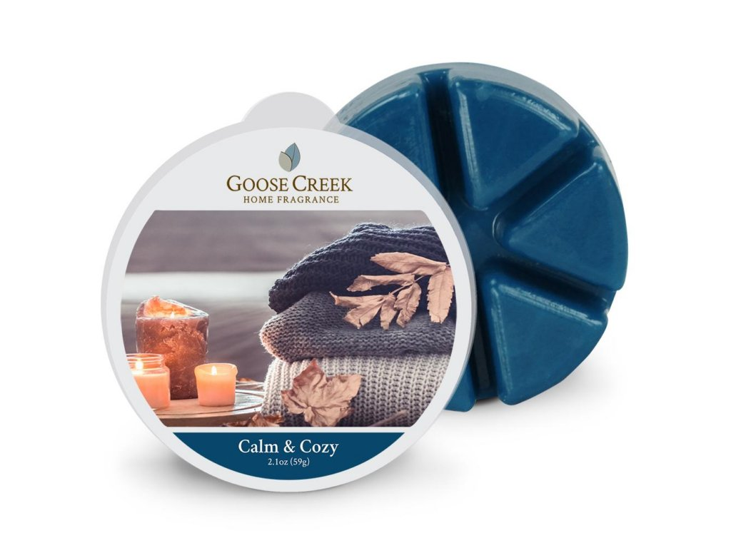 Goose Creek Candle Vonný Vosk Calm & Cozy, 59 g