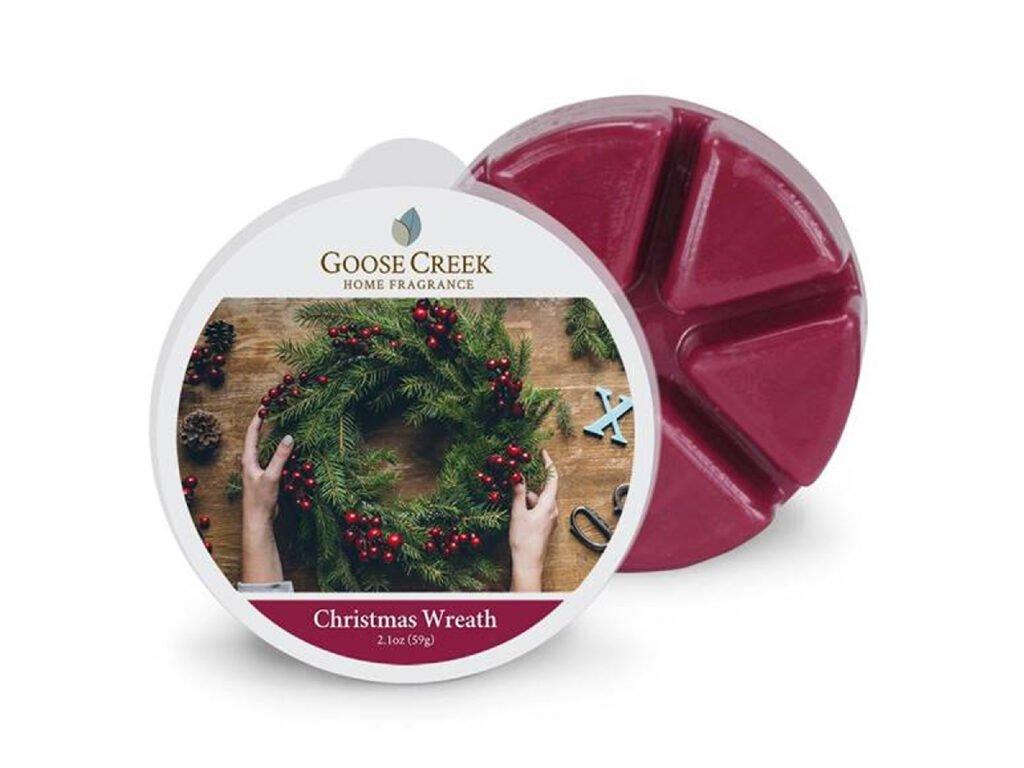Goose Creek Candle Vonný Vosk Christmas Wreath, 59 g