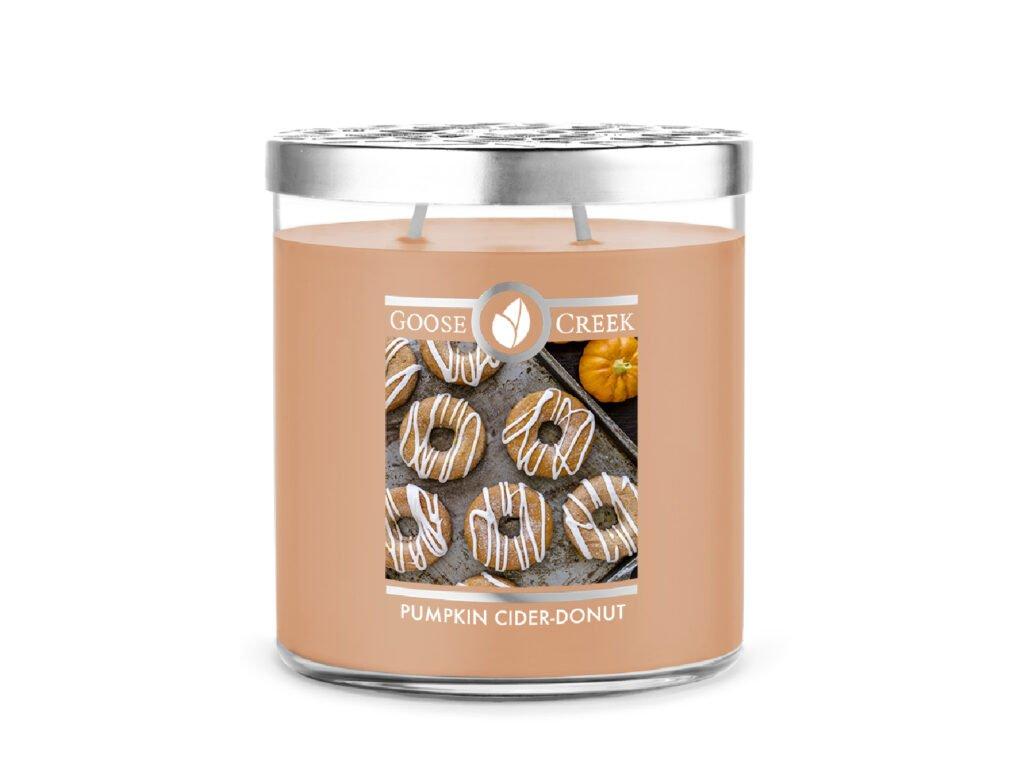 Goose Creek Candle svíčka Pumpkin Cider Donut, 453 g