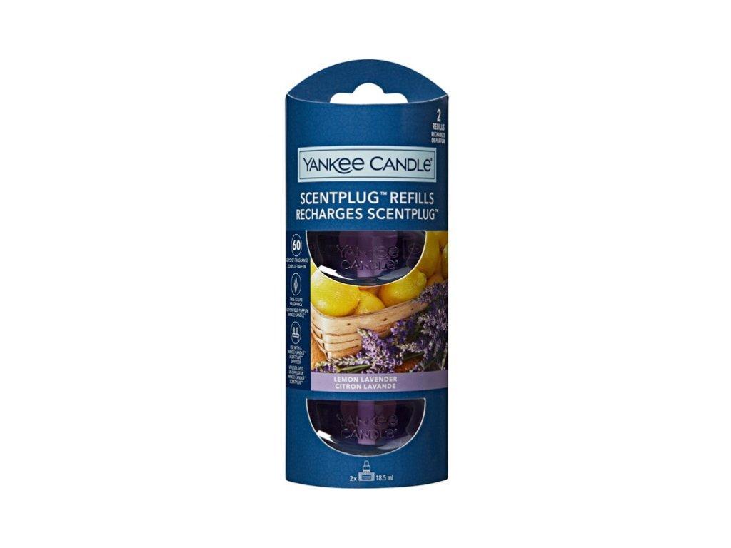 Yankee Candle Lemon Lavender Náhradní náplň pro vůni do elektrické zásuvky