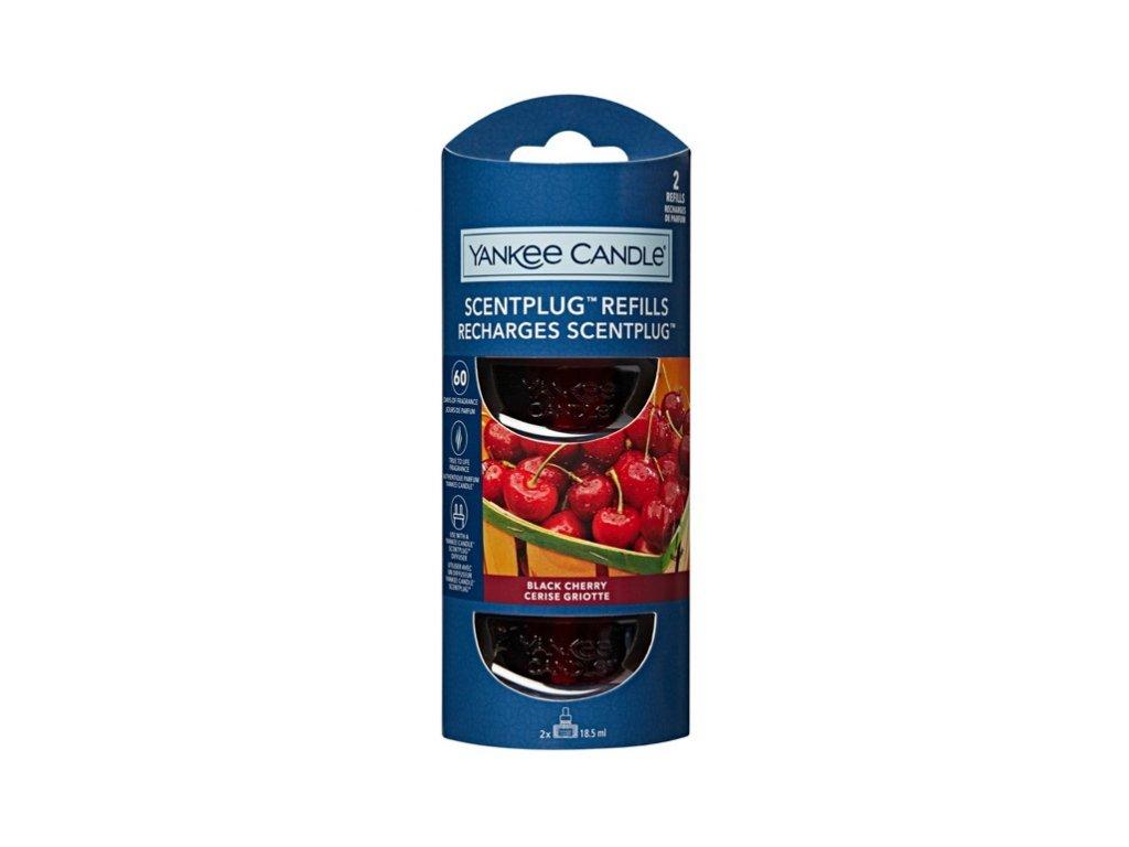 Yankee Candle Black Cherry Náhradní náplň pro vůni do elektrické zásuvky
