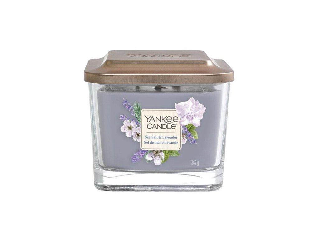 Yankee Candle Svíčka Elevation Sea Salt & Lavender střední, 347 g
