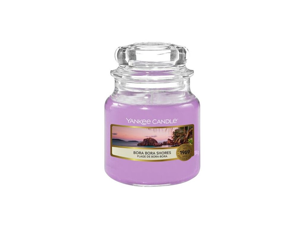 Yankee Candle Vonná Svíčka Bora Bora Shores classic malý, 104 g