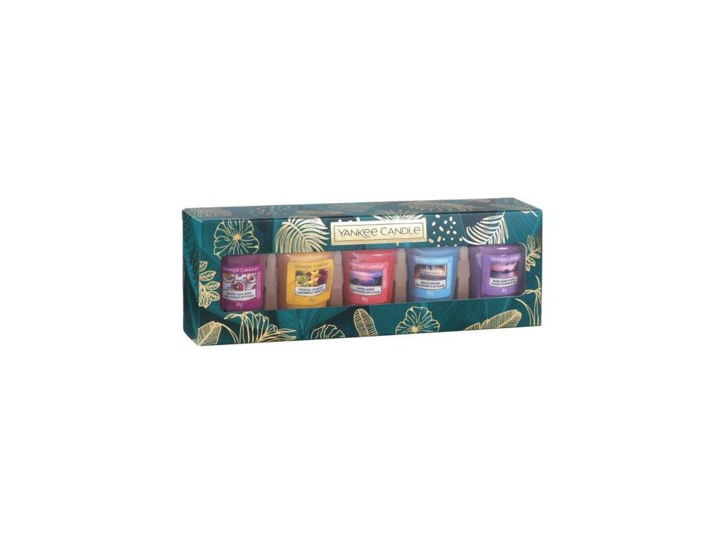 Yankee Candle Dárková sada 5 votivních svíček