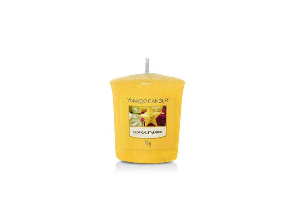 Yankee Candle Vonná Svíčka Votivní Tropical Starfruit, 49 g
