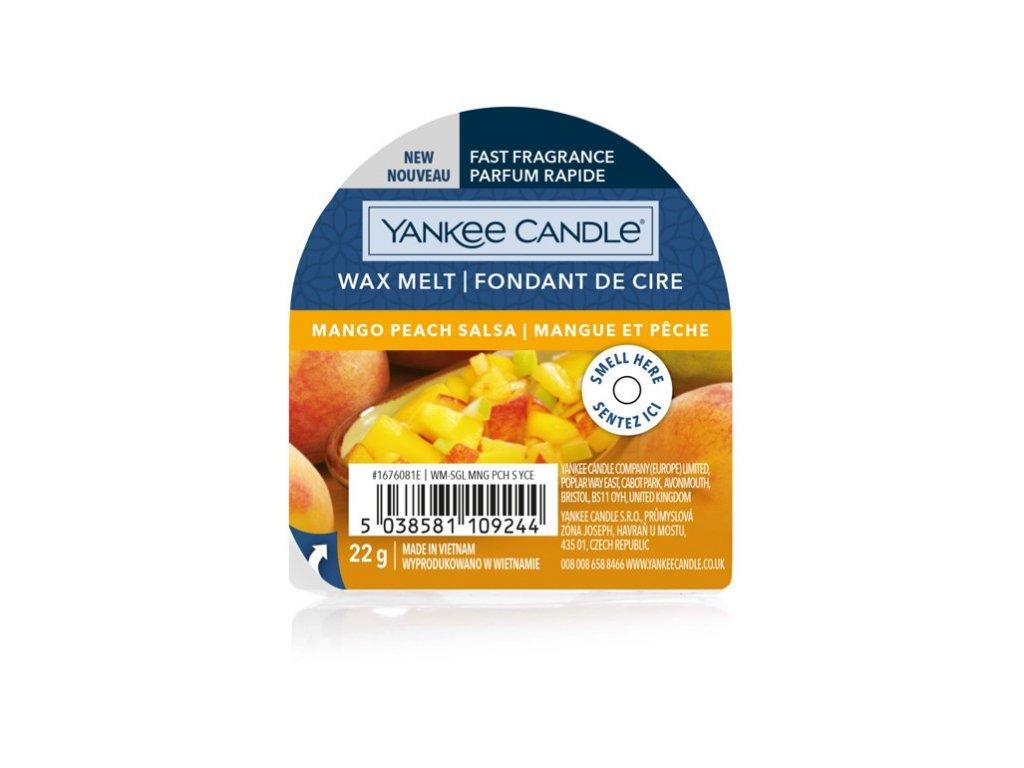 Yankee Candle - Mango Peach Salsa Vosk do aromalampy nový 2021, 22 g