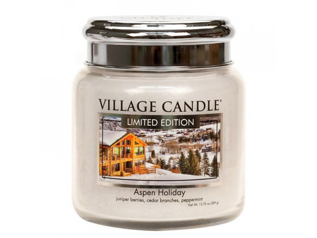 Village Candle Vonná svíčka Aspen Holiday, 389 g