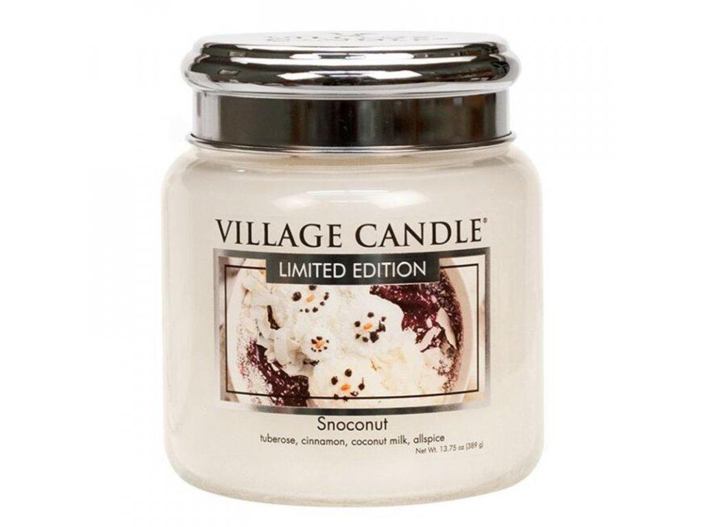 Village Candle Vonná svíčka Snoconut, 389 g