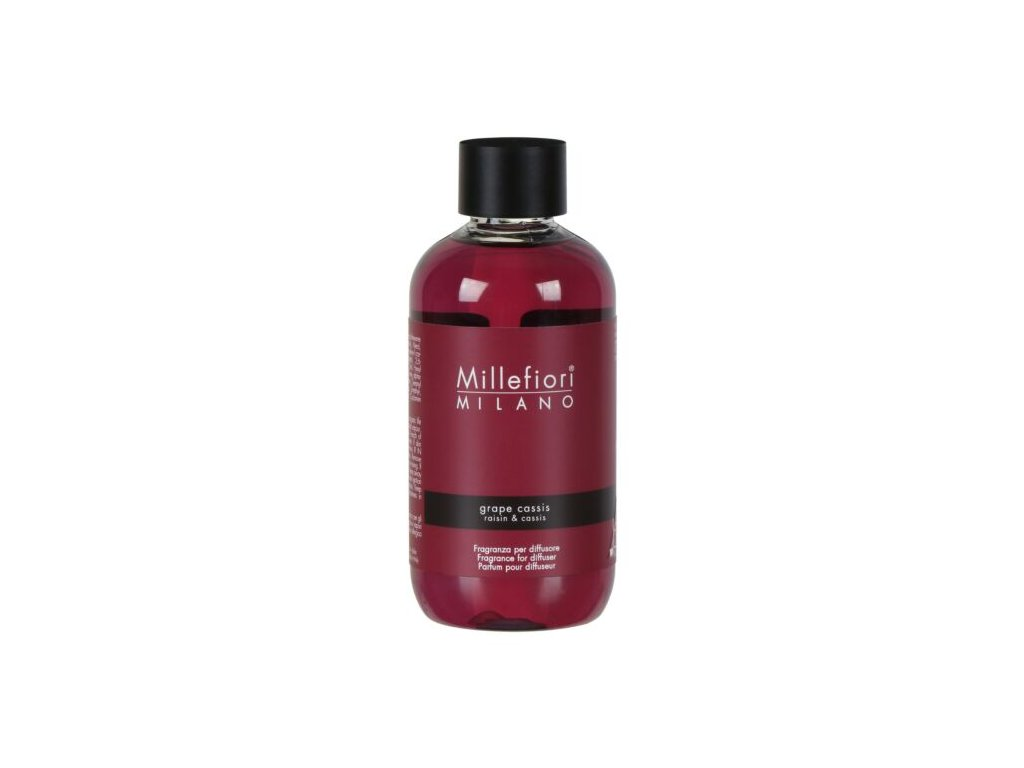 Millefiori Milano Natural náplň do aroma difuzéru Grape Cassis, 250 ml
