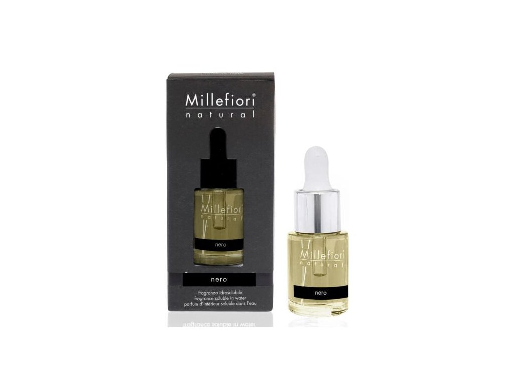 Millefiori Natural Nero aroma olej 15 ml