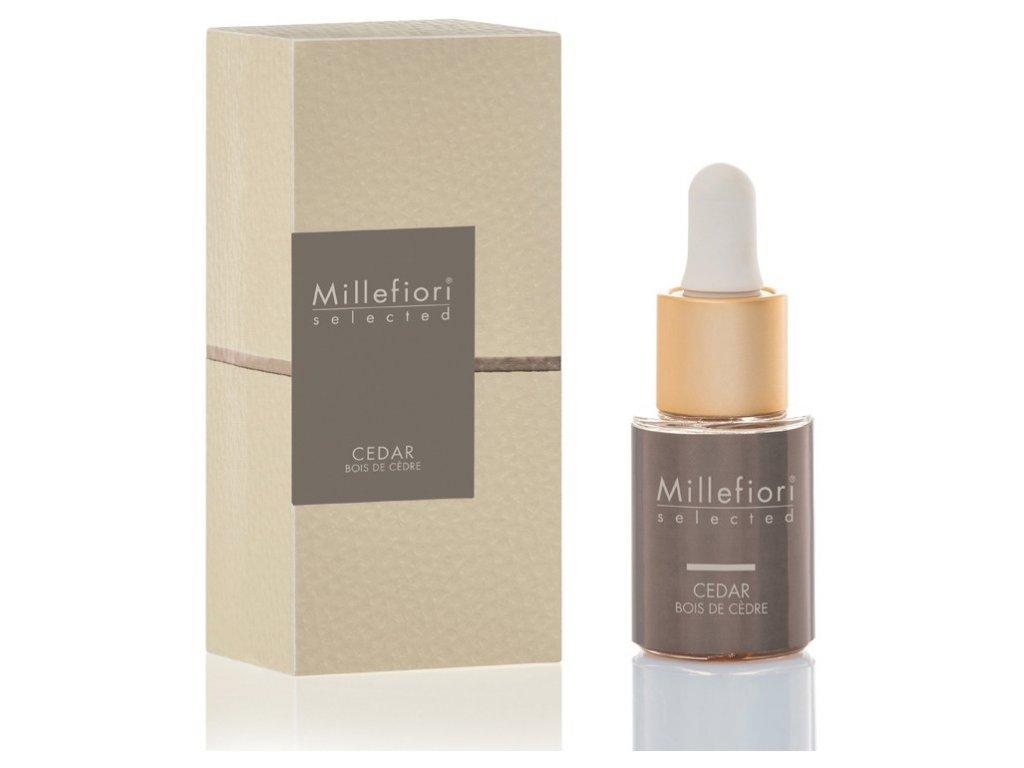 Millefiori Selected Cedar aroma olej 15 ml
