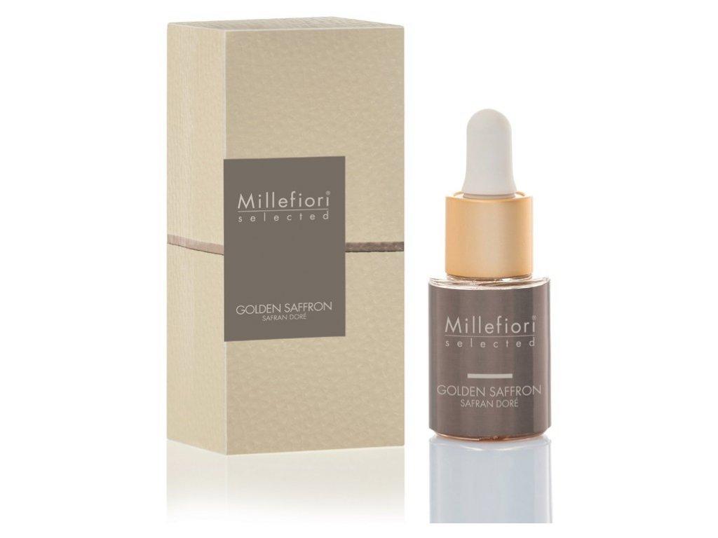 Millefiori Selected Golden Saffron aroma olej 15 ml