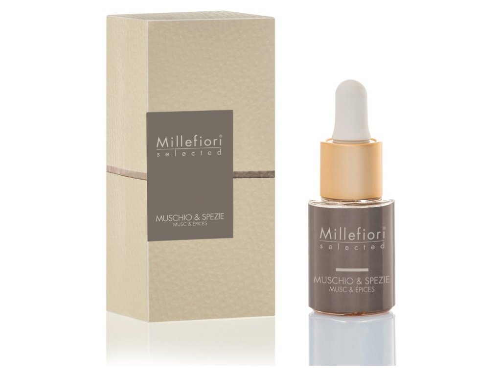 Millefiori Selected Muschio & Spezie aroma olej 15 ml