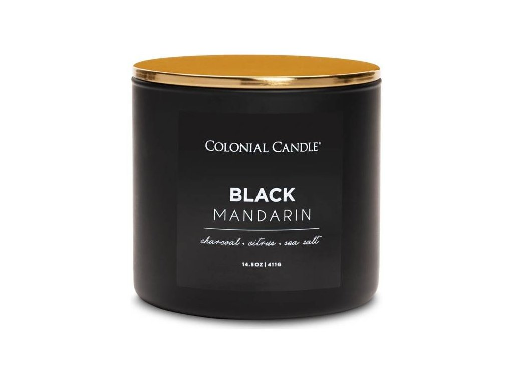Colonial Candle svíčka Pop Of Color Black Mandarin, 411 g