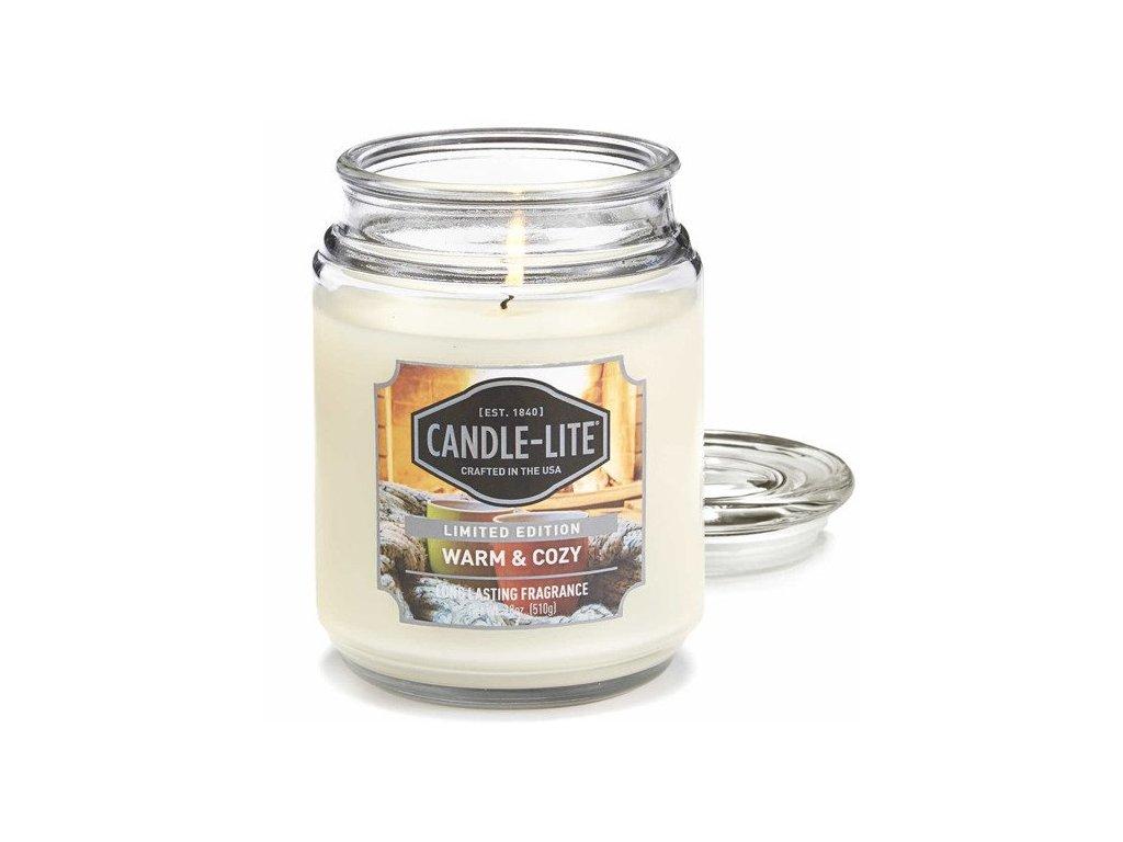 Candle-Lite Everyday svíčka Warm & Cozy, 510 g