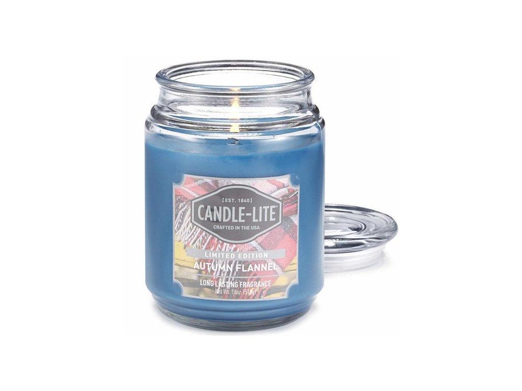 Candle-Lite Everyday svíčka Autumn Flannel, 510 g