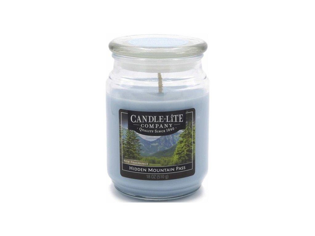 Candle-Lite Everyday svíčka Hidden Mountain Pass, 510 g